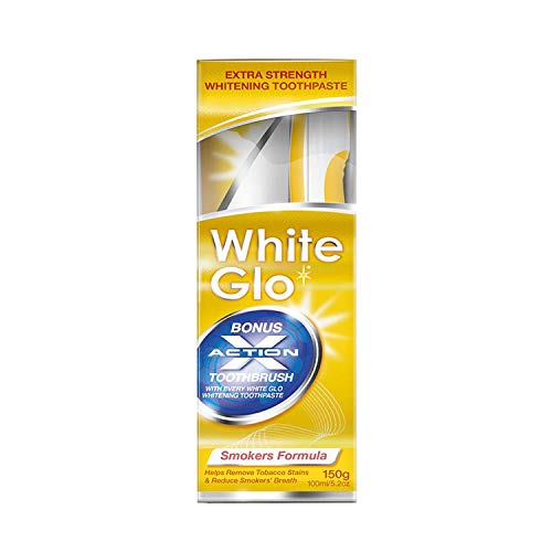 White Glo Smokers' Formula Whitening Toothpaste, Black, 1 stück