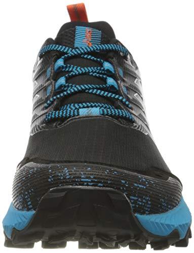 Asics Gel-Trabuco 9, Trail Running Shoe Hombre, Black/White, 45 EU