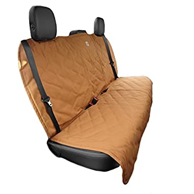 Carhartt Gear 102304 Dog Seat Cover - One Size Fits All - Carhartt Brown