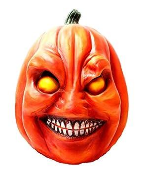 Pumpkin mask Pumpkin head mask Halloween Novelty Costume Party Latex Full Head Mask Cosplay Props Pumpkin Mask Costume Orange