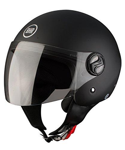 BHR 50271 Helm Demi Jet Matte, Schwarz, M