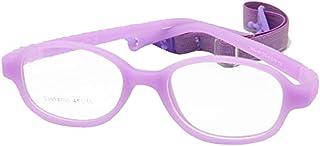 e152883e17 EnzoDate Gafas para niños con montura de 41 mm, sin tornillos, gafas  ópticas para
