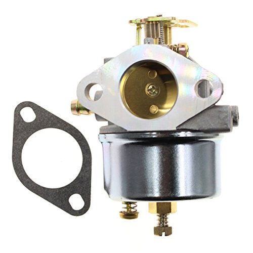 Carbhub 640052 Carburetor for Tecumseh 640349 640054 640058 640058A HMSK80 HMSK85 HMSK90 HMSK100 HSMK110 LH318A LH358SA 8HP 9HP 10HP Snowblower Generator Chipper Shredder - Tecumseh 640052 640054 Carb