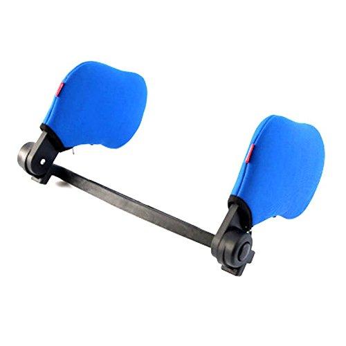 NACHEN Autostoel Hoofdsteun Hoge Elastische hals Kussen Dubbelzijdig Intrekbare Ademende Slaap Hoofdsteun Voor volwassenen en kinderen