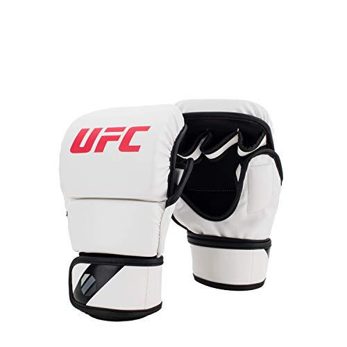 UFC Unisex-Handschuhe Contender Sparing Gloves, 227 g, Weiß, Größe XL