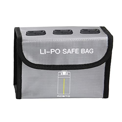 DJFEI Bolsa de Batería LiPo para dji Mavc Mini 2, Batería de Lipo a Prueba de Explosiones a Prueba de Fuego Bolsa de Almacenamiento Segura de Drones de protección Bolsa (C)