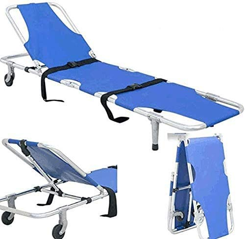 FDSAD Faltbare Multifunktions-Trage, tragbare Notfall-Rettungstrage für Familien Sportstätten usw. 817