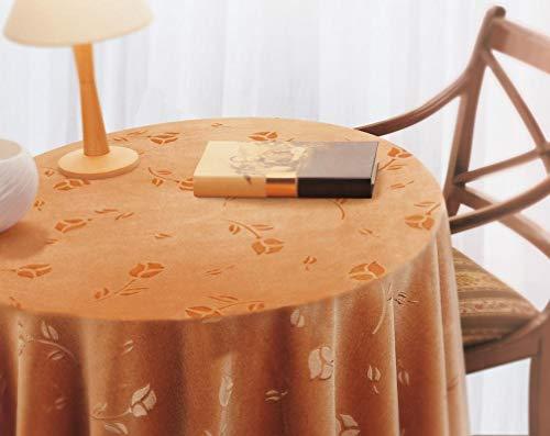 BENEDETTAHOME Falda Mesa Camilla Rectangular gofrada Terciopelo 90x140cm. Ocre