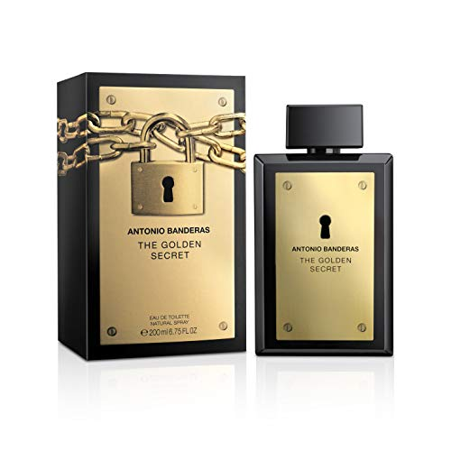 Antonio Banderas The Golden Secret Agua de Colonia - 200 ml