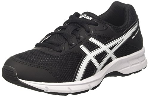 Asics C626N9000, Zapatillas de Running Unisex niños, Negro (Black/Snow/Black), 37.5 EU