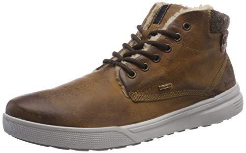bugatti Herren 311606523200 Klassische Stiefel, Braun, 45 EU