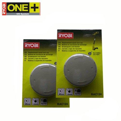 RYOBI RAC124 - Carrete y tapa de repuesto para las desbrozadoras eléctricas...