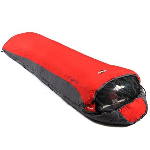 Vango Planet 100 Travel Sleeping Bag (2018) - Volcano Red