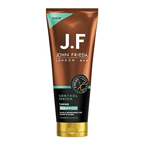 John Frieda Man JF Man Control System Taming Shampoo für dickes, widerspenstiges Haar, 250 ml