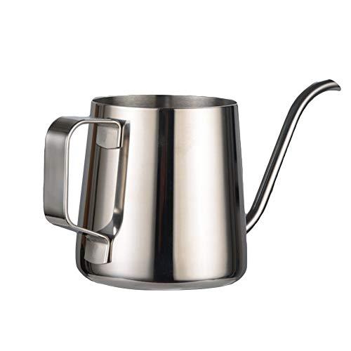 Fantastic Deal! Shentesel Drip Pot Long Narrow Spout Coffee Tea Stainless Steel Gooseneck Kettle - S...
