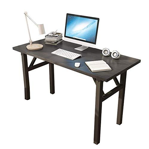 DJPP Escritorio para Computadora, Escritorio para Estudiantes Plegable Y Portátil, Escritorio Simple sin Instalación, Mesa Pequeña para el Hogar,Los 80X50Cm