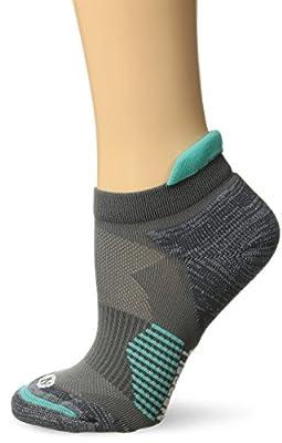 Merrell Women's 1 Pack Cushioned Ultra Light Running Tab Low Cut Socks, Monument, Shoe Size: 4-9.5