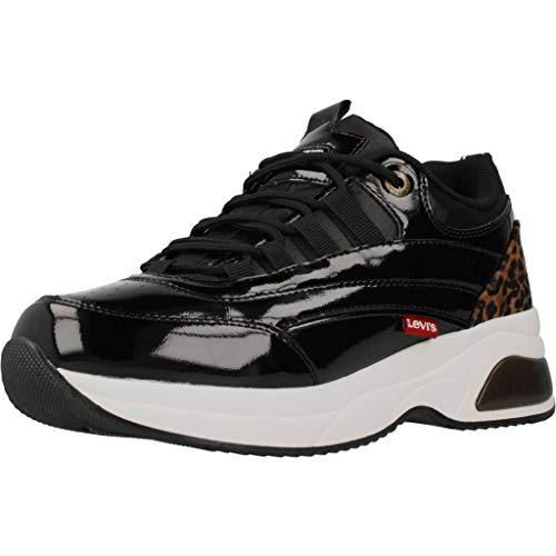 Levi'S Zapatillas Chelsea para Niñas Negro 36 EU