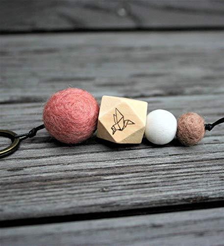 Schlüsselanhänger/verschiedene Motive möglich (z.B. Herz, Anker, Babyfüße, Stern, uva.), Wörter/Namen möglich