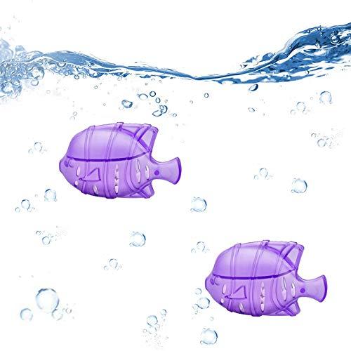 Luftbefeuchter Tank-Reiniger Lila Fisch Design Hervorragend für Luftbefeuchter Wasseraufbereitung, Auswirkung von Hartwasserablagerungen im Vorratsbehälter zu verringern (2er Set)
