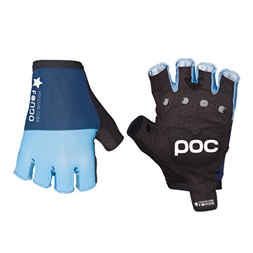 POC Sports Fondo Guantes, Hombre, Seaborgium Multi Blue, Small