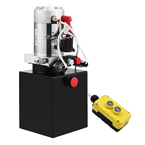 ZauberLu 12V/DC Hydraulikpumpe & doppeltwirkende Kipperpumpe