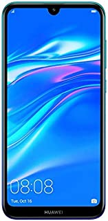 HUAWEI Y7 Prime 2019 32 GB 6.26 inch FullView HD+ Dewdrop Display Smartphone with Dual AI Camera, Android Sim-Free Mobile ...