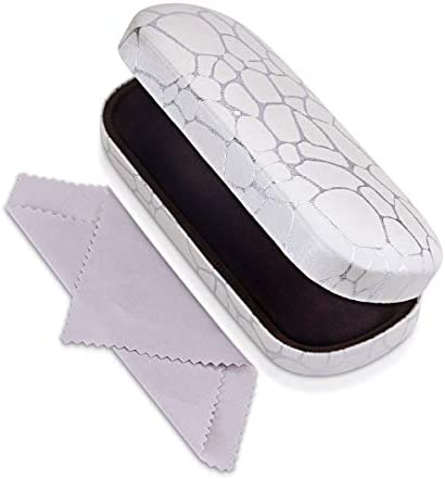 Hard Shell Clamshell Eyeglasses Case Raylove Portable Glasses Protection Case product image