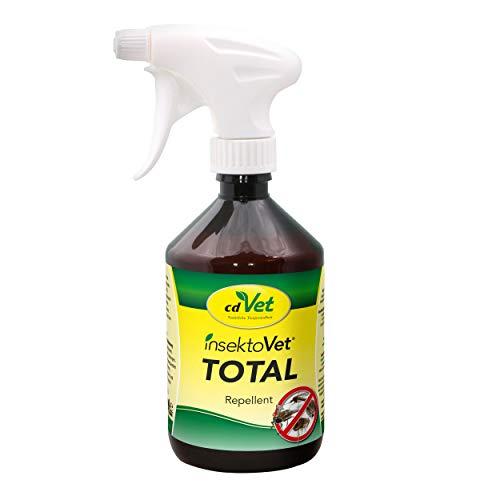 cdVet Naturprodukte insektoVet Total 500ml - wirkungsvolle und nachhaltige Abwehr von Floh und Mücke über Bremse bis hin zur Zecke - wirkt langanhaltend und intensiv -schonend zu Fell und Haut -