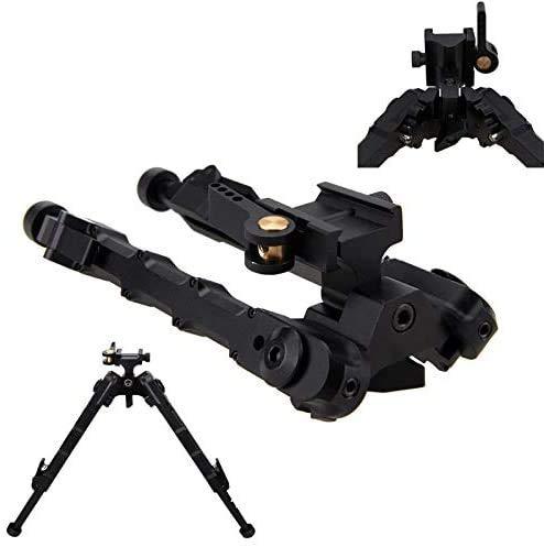 Pivote Giratorio Ajustable trípode táctico de Rifle de Pistola de Aire de 9 a 10 Pulgadas V9 M-LOK bípode para Caza Disparo SR-5