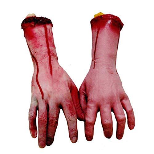 TOOGOO Furchter Regende Halloween StüTze des Blutigen Grauens Gef?Lschte Abgetrennte Life Size Arm Hand Haus 22-23Cm