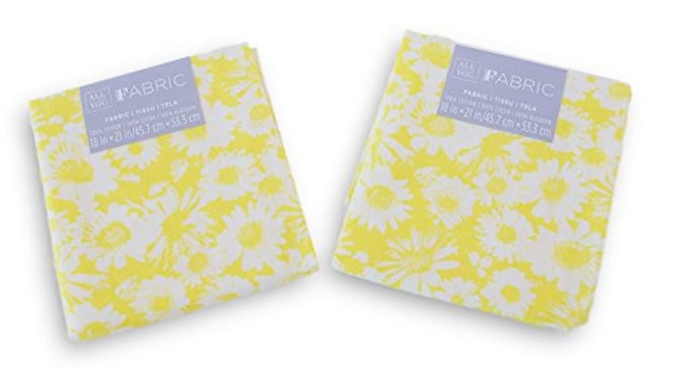 All Things You Fabric Fat Quarters Bundle - Yellow Floral