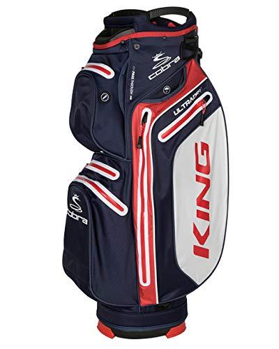 Cobra King UltraDry Cart Bag/Golfbag Peacoat Puma 909282,...