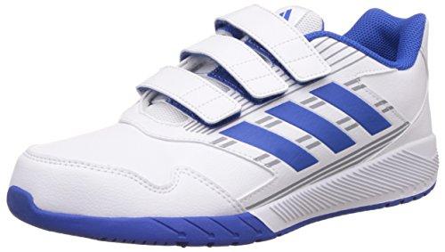 adidas Unisex-Kinder Altarun Fitnessschuhe, Weiß (Ftwbla/Azul/Grimed 000), 38 EU