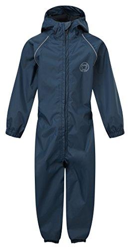 Kasteel Kleding 323 Splash weg kinderen regen pak 1-2 marineblauw