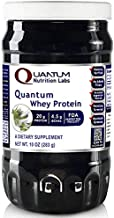Quantum Whey - 100% Premier Research Whey Peptein, Typically 15% Glycomacropeptides - The Gold Standard in Full-Bodied, Great-Tasting Protein Powder, 40oz Powder