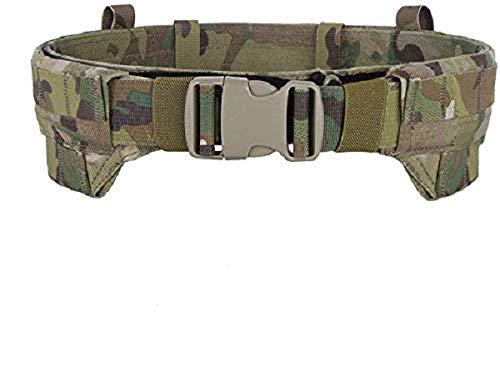EMERSONGEAR MOLLE Rigger's Belt Lightweight Low Profile Tactical Modular Inner & Outer Combat Patrol Duty Belt Multicam M
