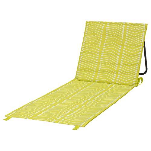 Ikea Sommar 2017 Liege Farbe: Neon Gelb/Weiss Länge: 105x51cm - Ideal zum mitnehmen und Sonnenbaden