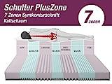 BMM Matratze Klassik 19 XXL – orthopädische 7-Zonen Kaltschaummatratze, H4, 19cm Höhe, Bezug Premium V2 Doppeltuch, 180×200 cm - 3