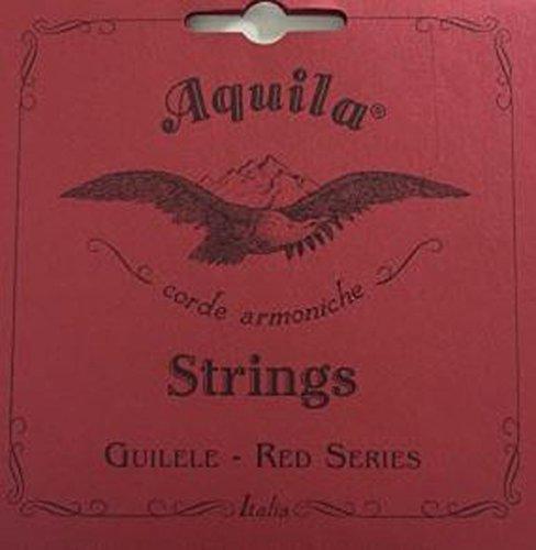 Aquila Guilele Red Series Strings. Guitarlele Guilele 133c