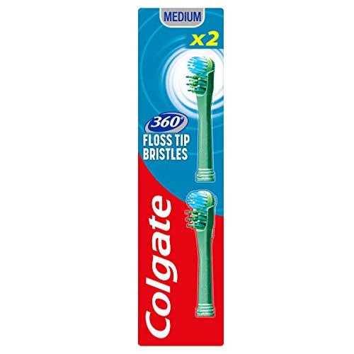 Colgate Ricariche Spazzolino a Batteria 360 Floss Tip - 2 testine