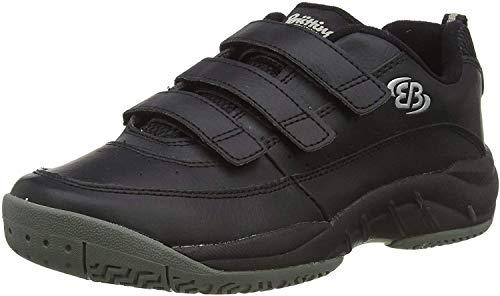 Bruetting RACKET V, Unisex-Erwachsene Sneakers, Schwarz (SCHWARZ), 46 EU (12 Erwachsene UK)