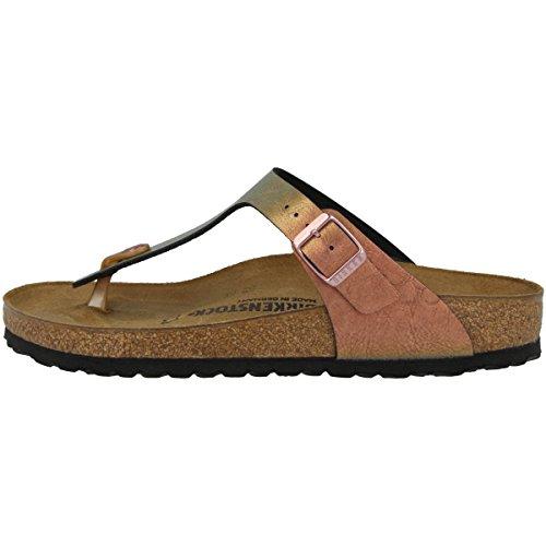 BIRKENSTOCK Damen Gizeh Birko-Flor Graceful Normal Sandale,Graceful Gemm Red (1012404),37 EU
