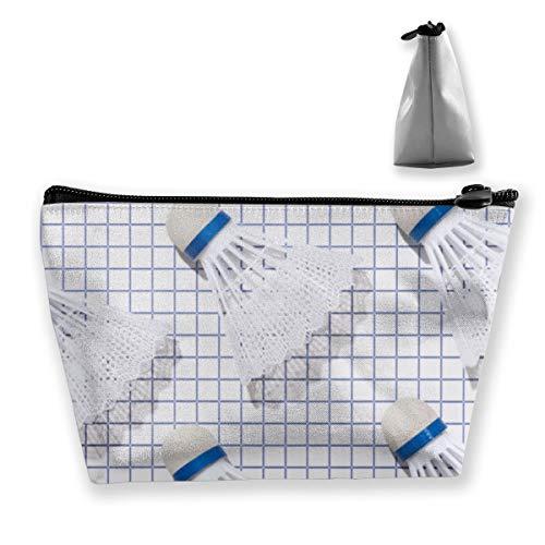 Badminton Makeup Bag Cosmetic Bag Large Toiletry Bag Travel Bag Case Organizer for Women