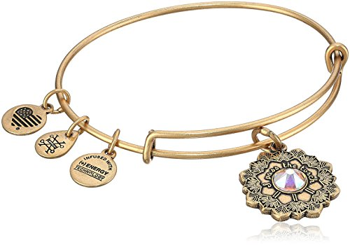 Alex and Ani Mother of The Bride Rafaelian Gold Bangle Bracelet