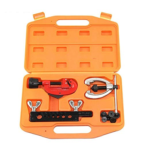 Flaring Tool Kit Flaring Tools CT-2029B Expander 7 Inch Well Bore Reamer Burring Reamer for Cutting and Expansion