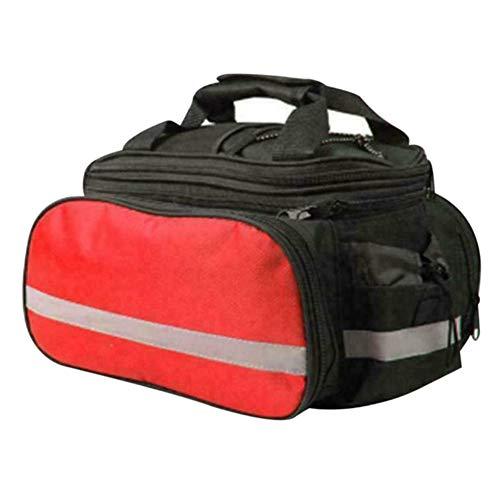TTFLY Bolsa para portabicicletas, bolsa para asiento trasero de bicicleta de montaña,...