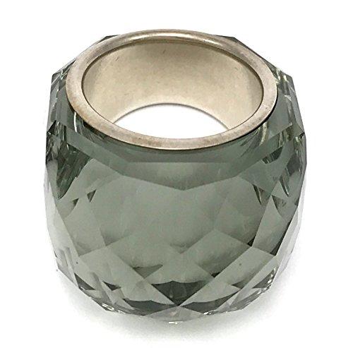 Swarovski Nirvana Schwarzes Diamond Ring, Größe 58, Large, Durchmesser 18.3mm, UK- P/Q, USA- 8, Referenz 846389