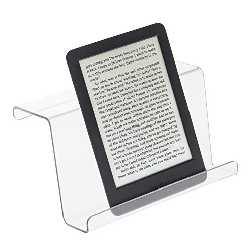 SOURCEONE.ORG Source One Treadmill Reading Rack Book Holder,Treadmills,Rowers,elipticals,Stationary Bikes,Climbers Etc. with Flat Display, (7 Inch)