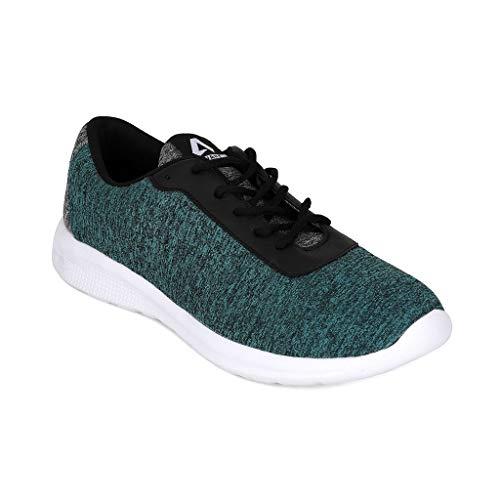 AVANT Men's Nitro Running and Gym Shoes - Green/Grey, UK 7